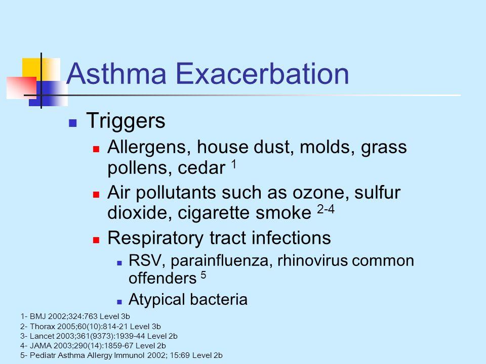 Asthma Exacerbation Triggers