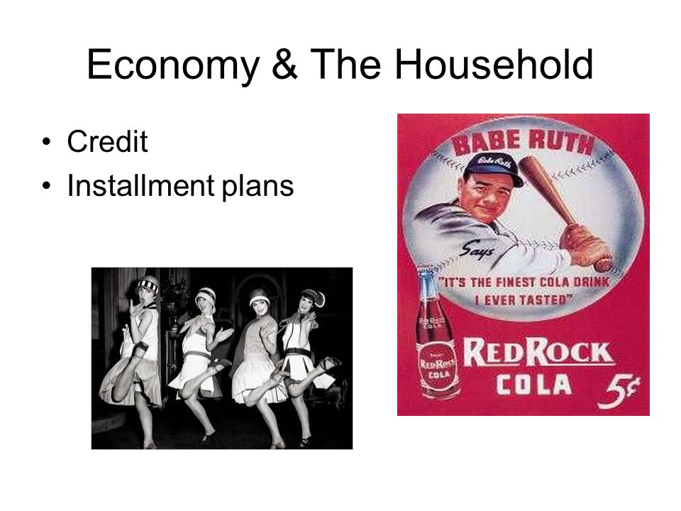 Economy & The Household