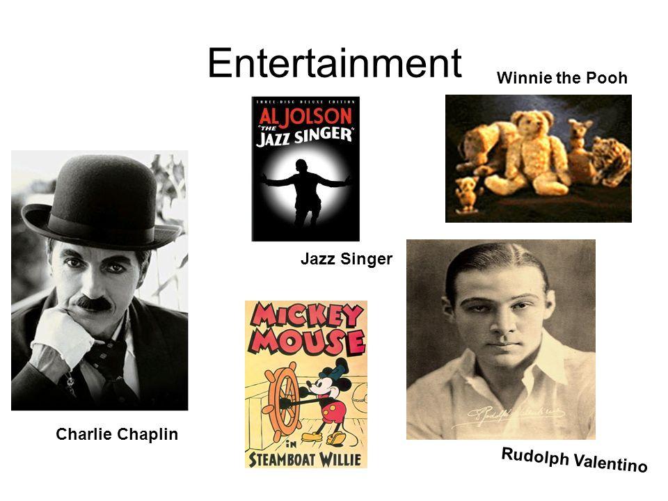 Entertainment Winnie the Pooh Jazz Singer Charlie Chaplin