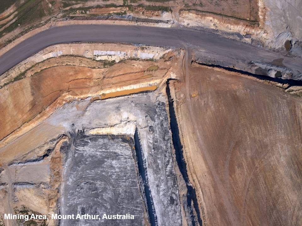 Mining Area, Mount Arthur, Australia