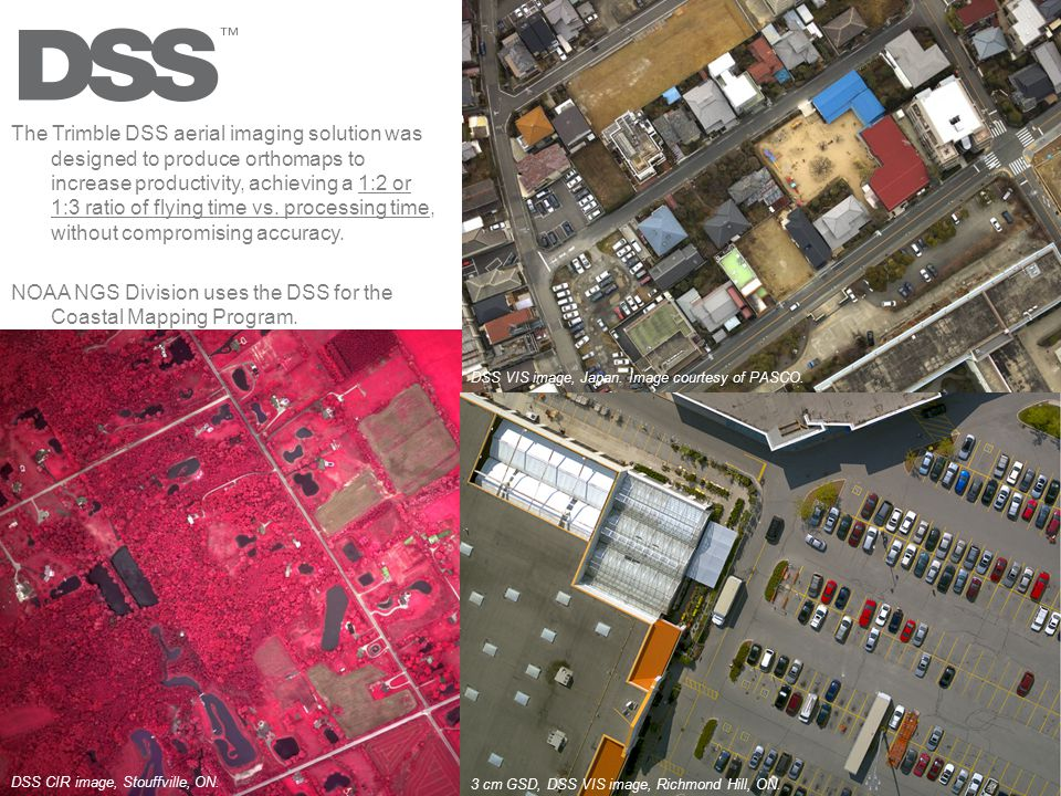 NOAA NGS Division uses the DSS for the Coastal Mapping Program.