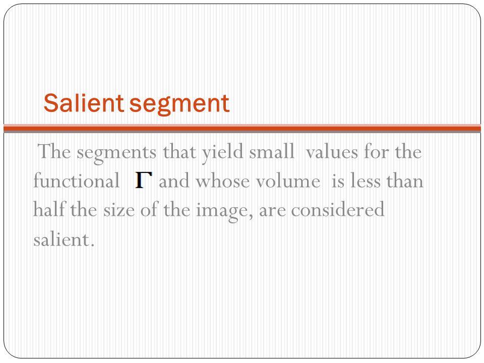Salient segment
