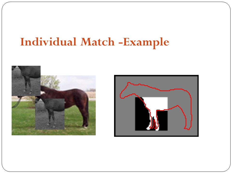 Individual Match -Example