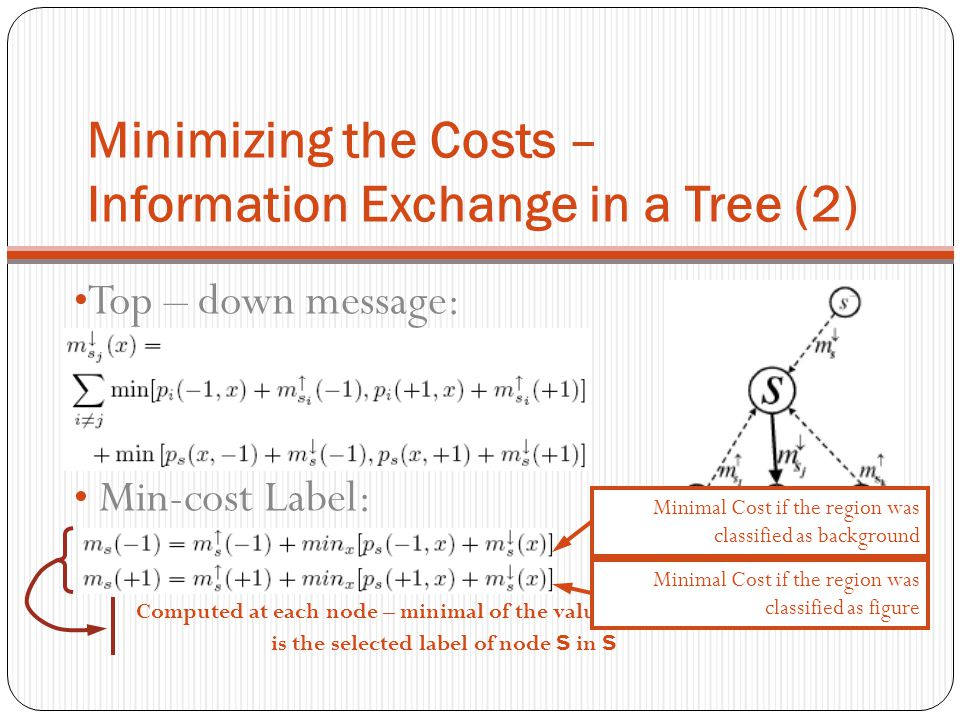 Minimizing the Costs – Information Exchange in a Tree (2)