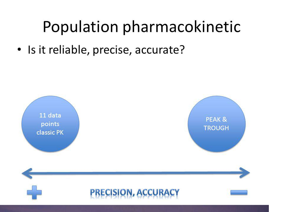Population pharmacokinetic