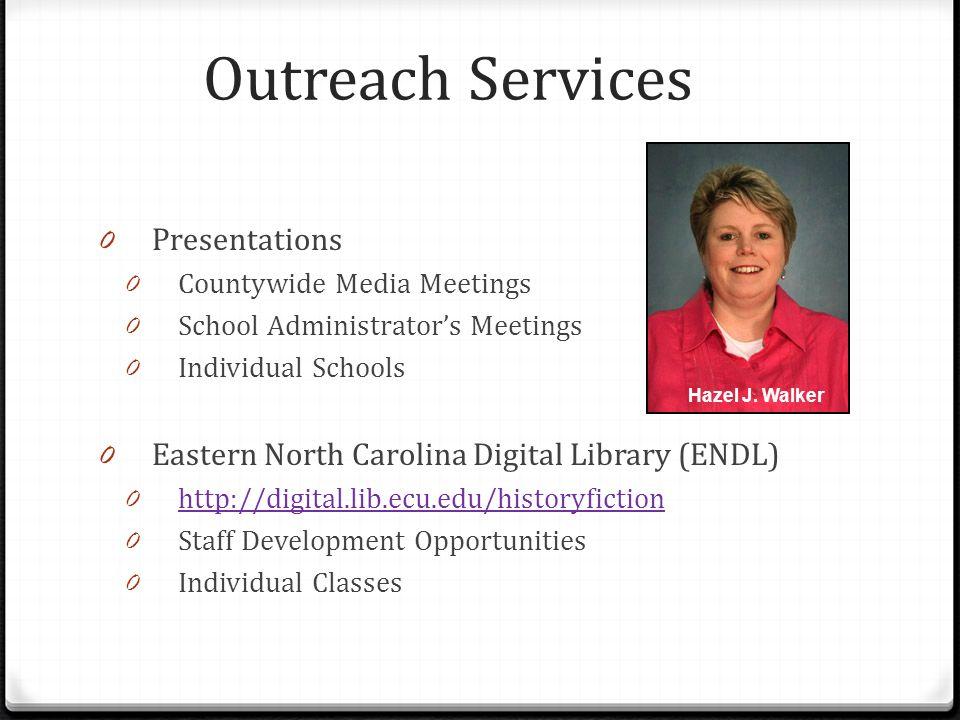 Outreach Services Presentations