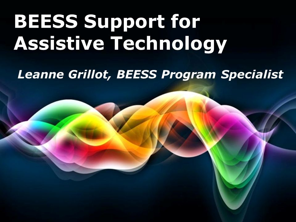 BEESS Support for Assistive Technology