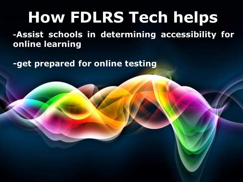 How FDLRS Tech helps -get prepared for online testing