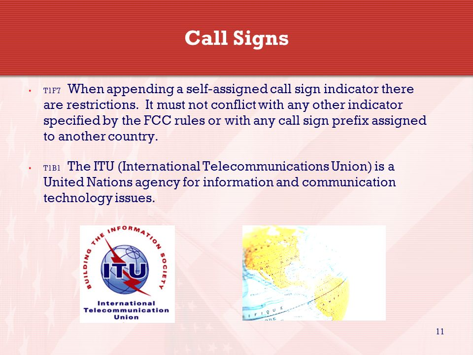 Call Signs