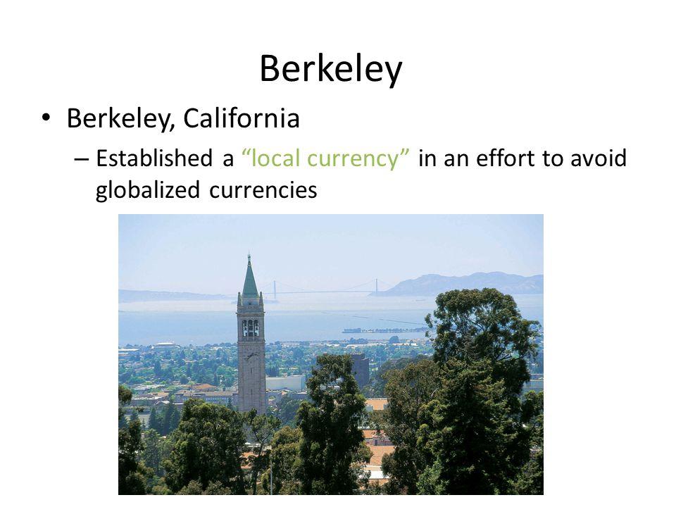 Berkeley Berkeley, California