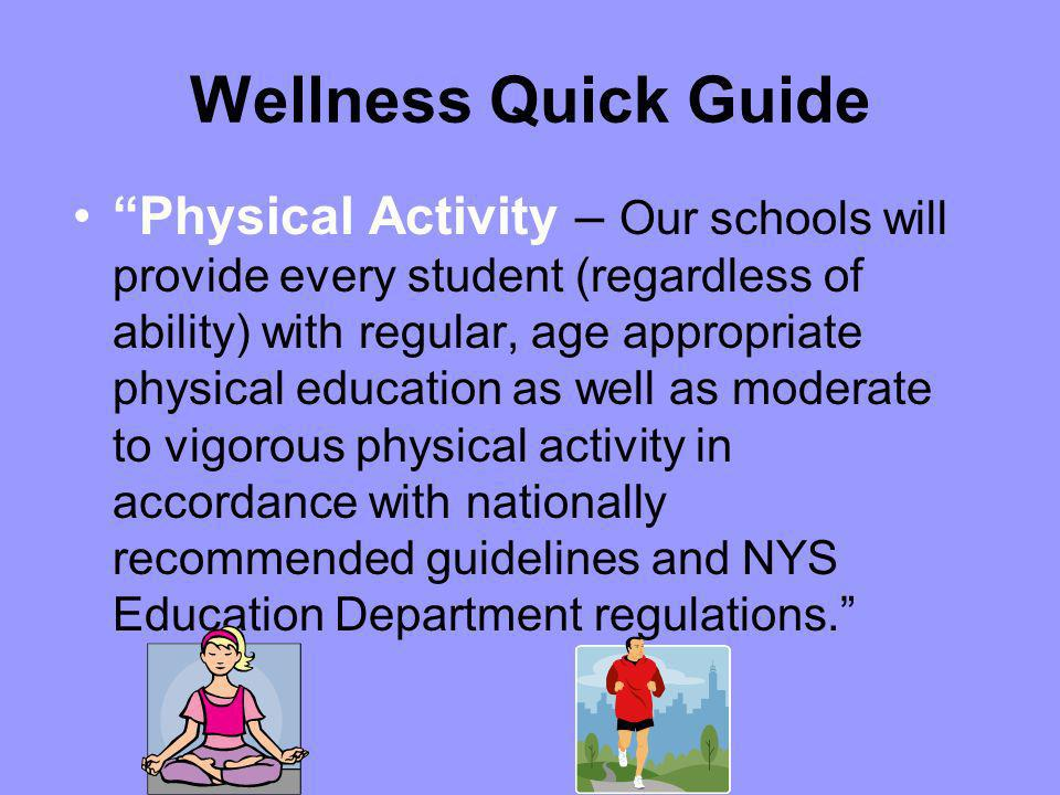 Wellness Quick Guide