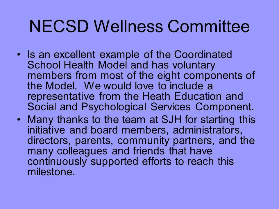 NECSD Wellness Committee