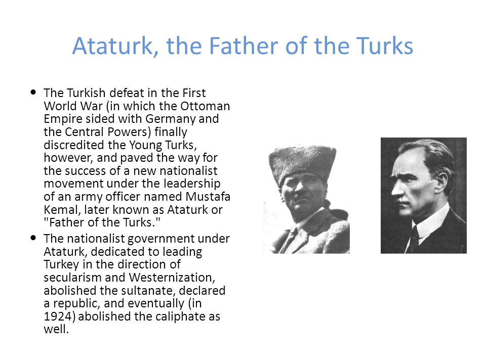 Ataturk, the Father of the Turks