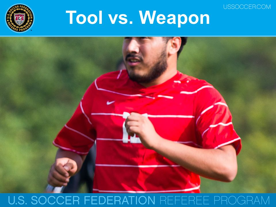 Tool vs. Weapon Online Training Script: