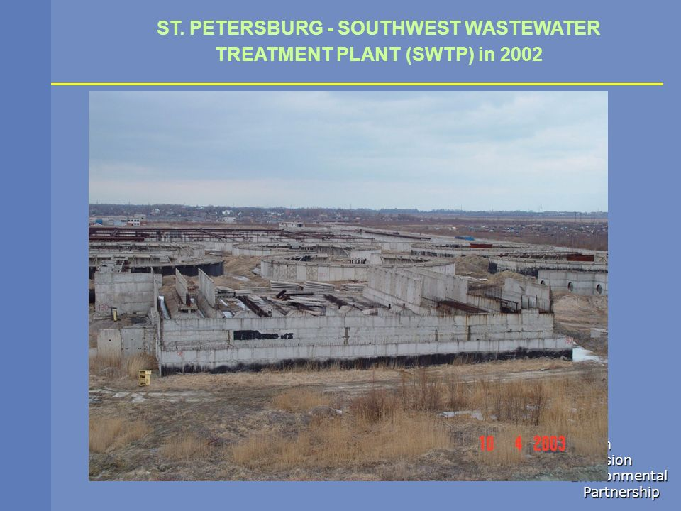 ST. PETERSBURG - SOUTHWEST WASTEWATER TREATMENT PLANT (SWTP) in 2002