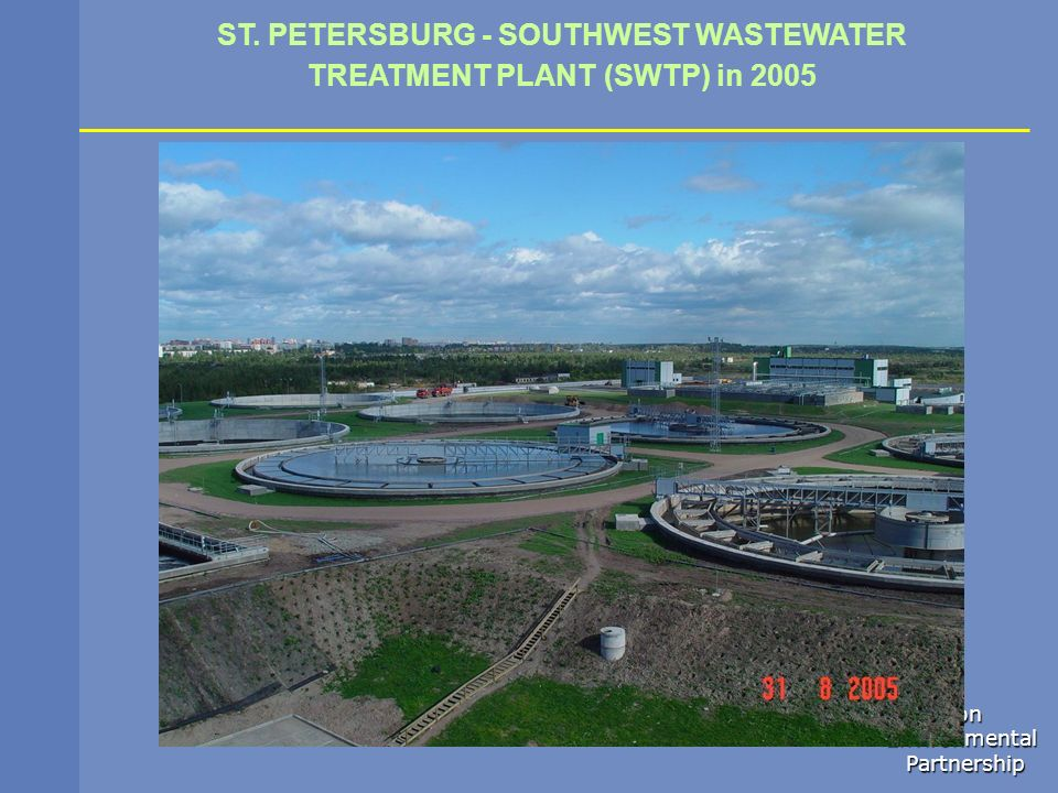 ST. PETERSBURG - SOUTHWEST WASTEWATER TREATMENT PLANT (SWTP) in 2005