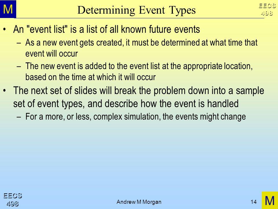 Determining Event Types