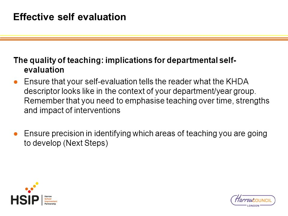how to write a good self evaluation