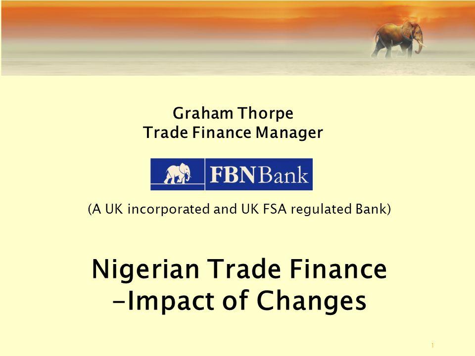 Nigerian Trade Finance
