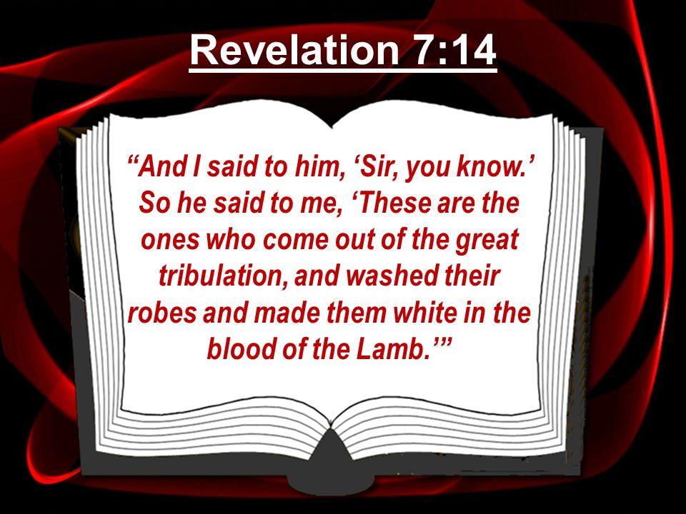 Revelation 7:14