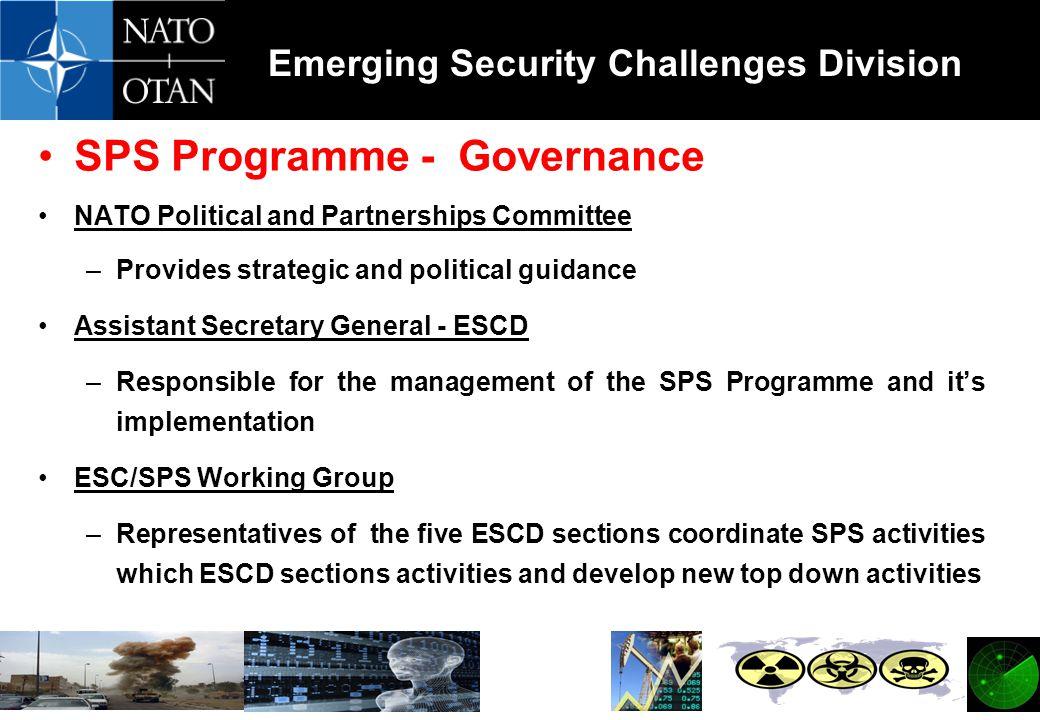 SPS Programme - Governance