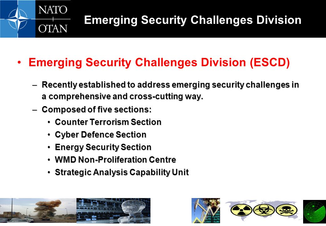 Emerging Security Challenges Division (ESCD)