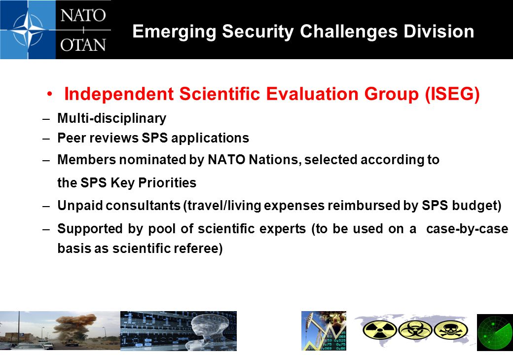 Independent Scientific Evaluation Group (ISEG)