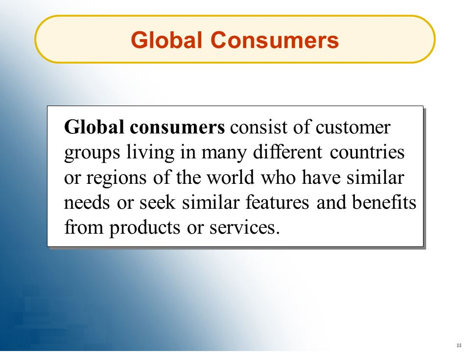 Global Consumers