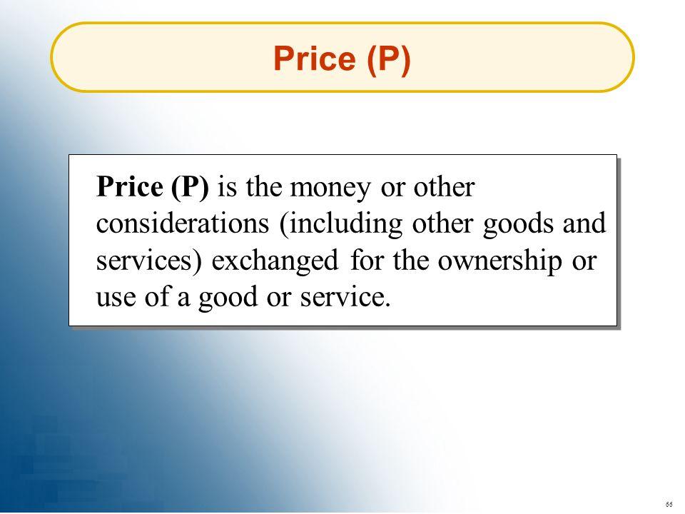 Price (P)