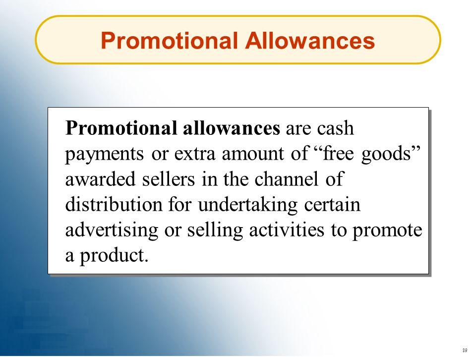 Promotional Allowances