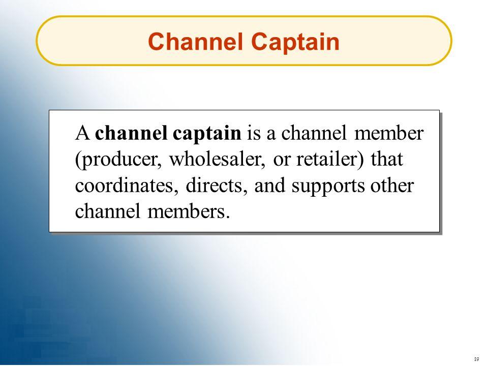 Channel Captain
