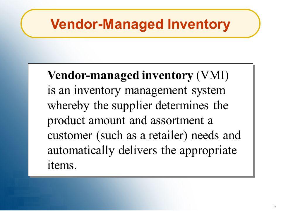 Vendor-Managed Inventory