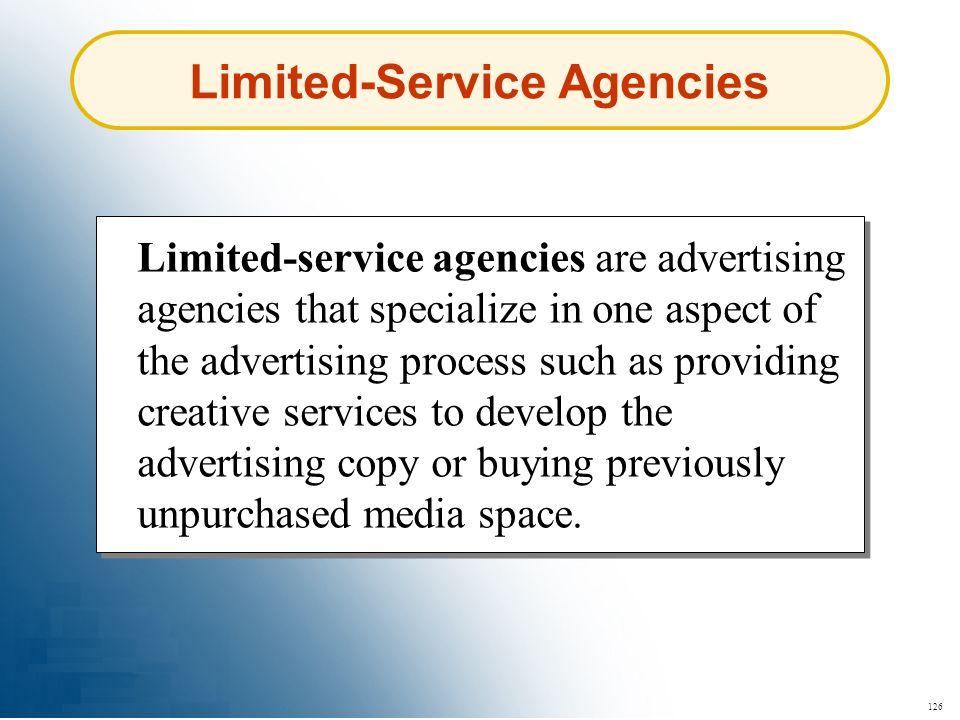 Limited-Service Agencies