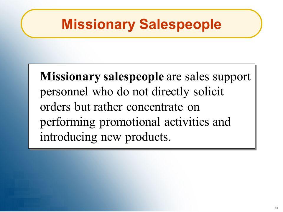 Missionary Salespeople