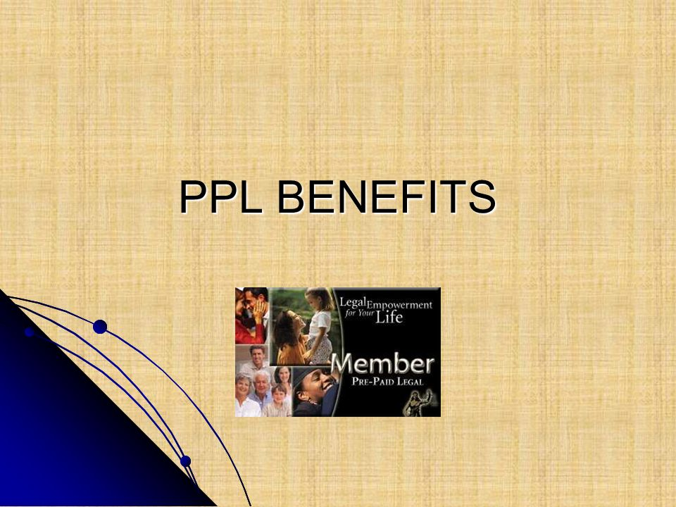 PPL BENEFITS