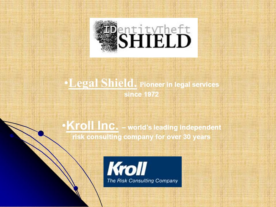 Legal Shield. Pioneer in legal services since 1972
