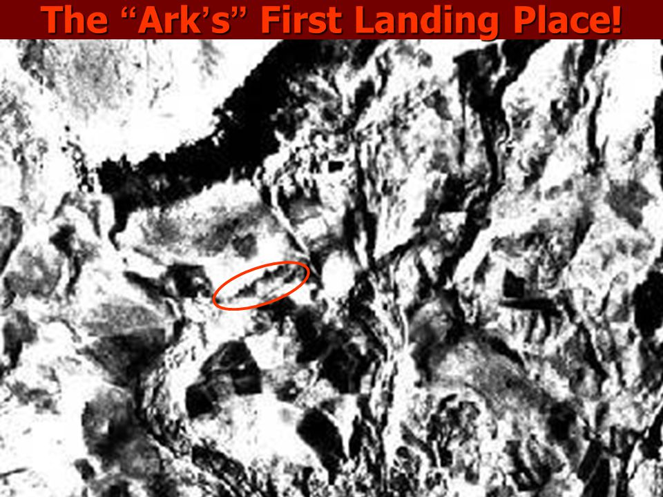 The Ark's First Landing Place!