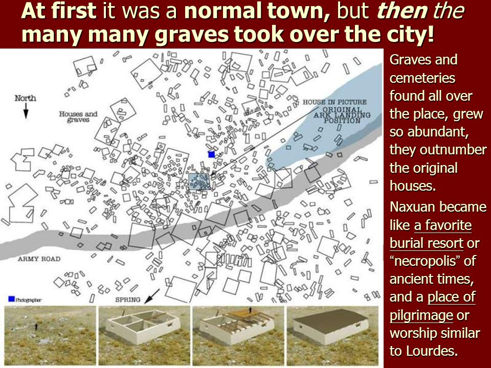 At first it was a normal town, but then the many many graves took over the city!