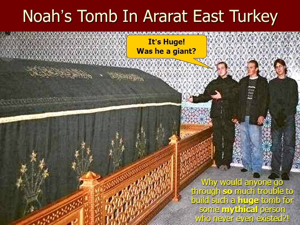 Noah's Tomb In Ararat East Turkey