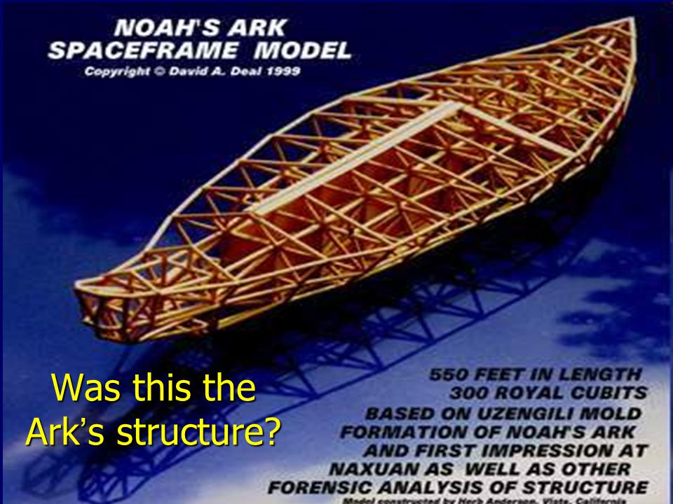 Was this the Ark's structure