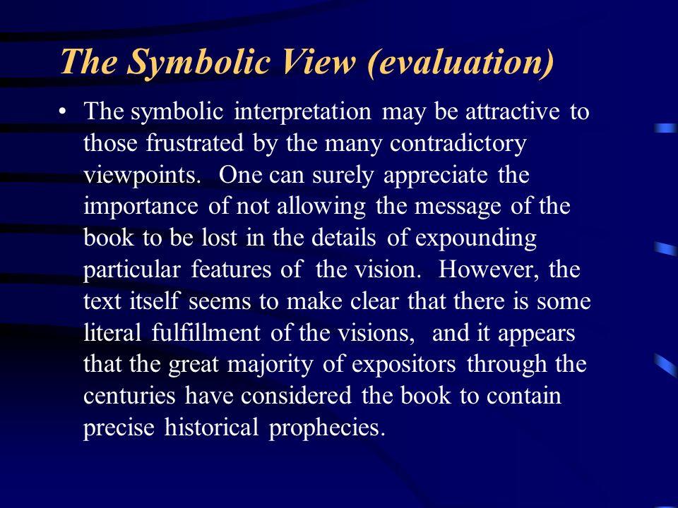 The Symbolic View (evaluation)