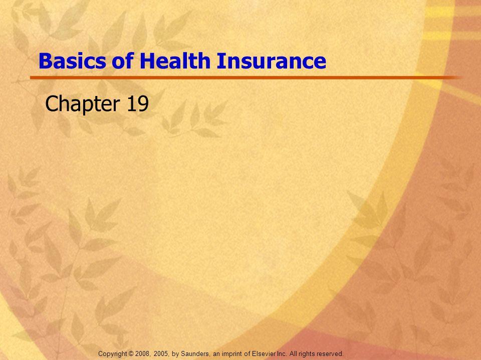Basics of Health Insurance