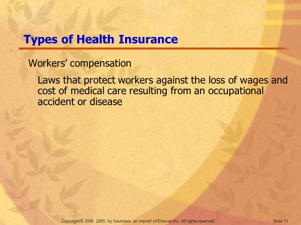 Types of Health Insurance