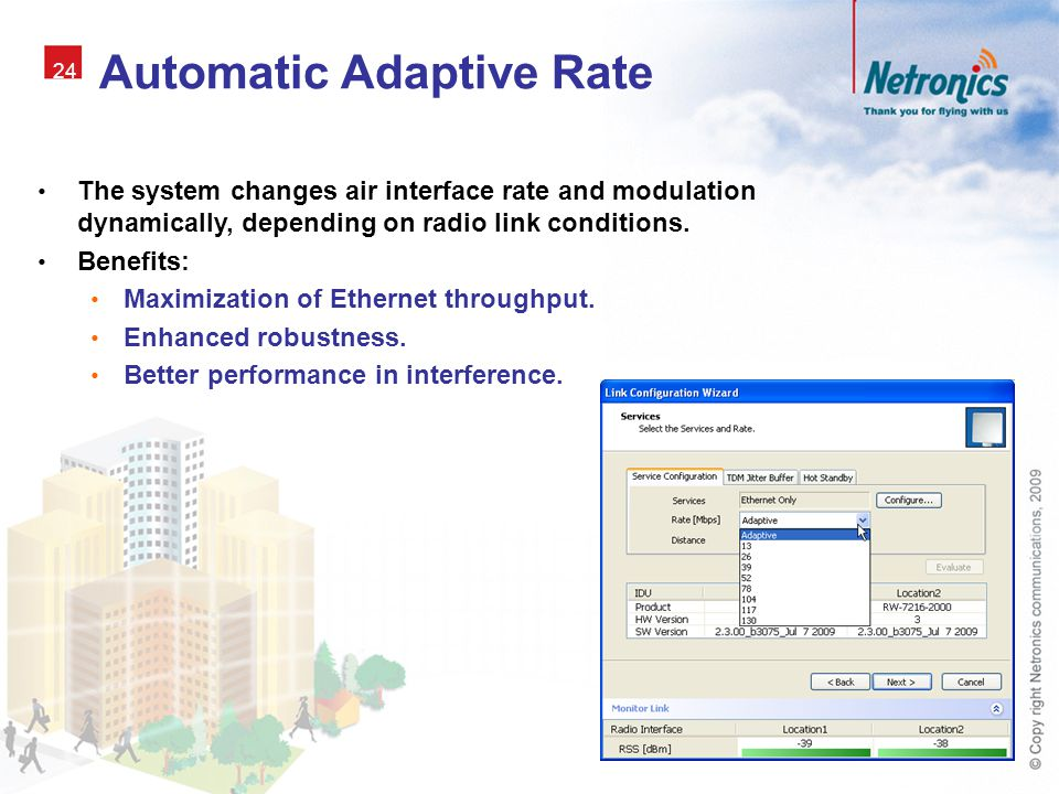 Automatic Adaptive Rate