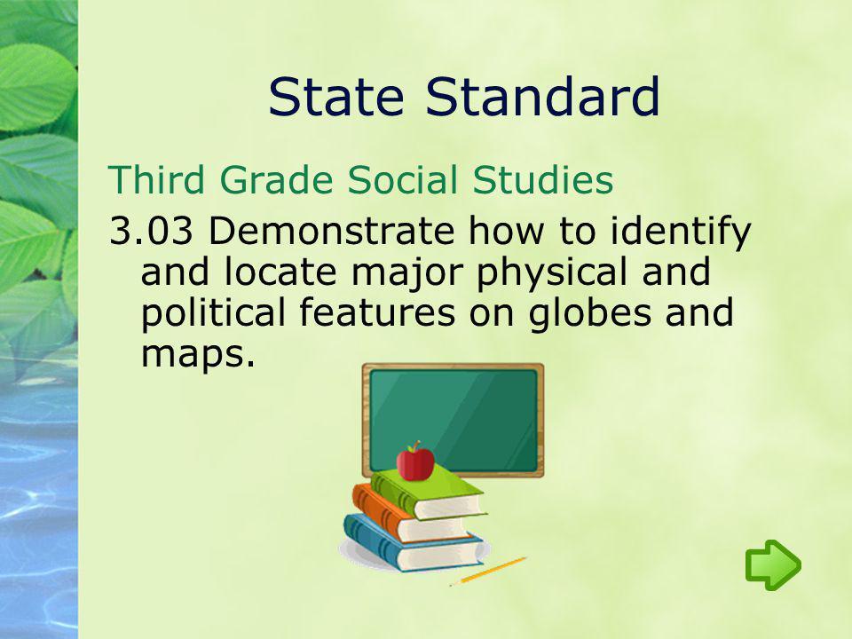 State Standard Third Grade Social Studies