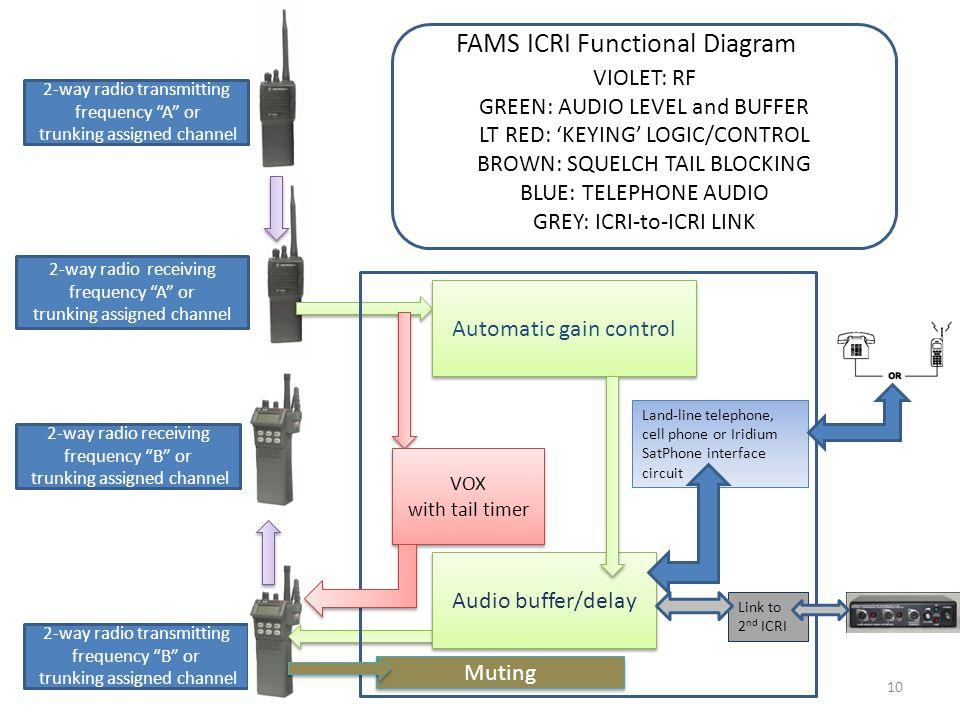 FAMS ICRI Functional Diagram