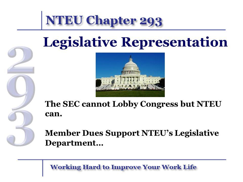 Legislative Representation