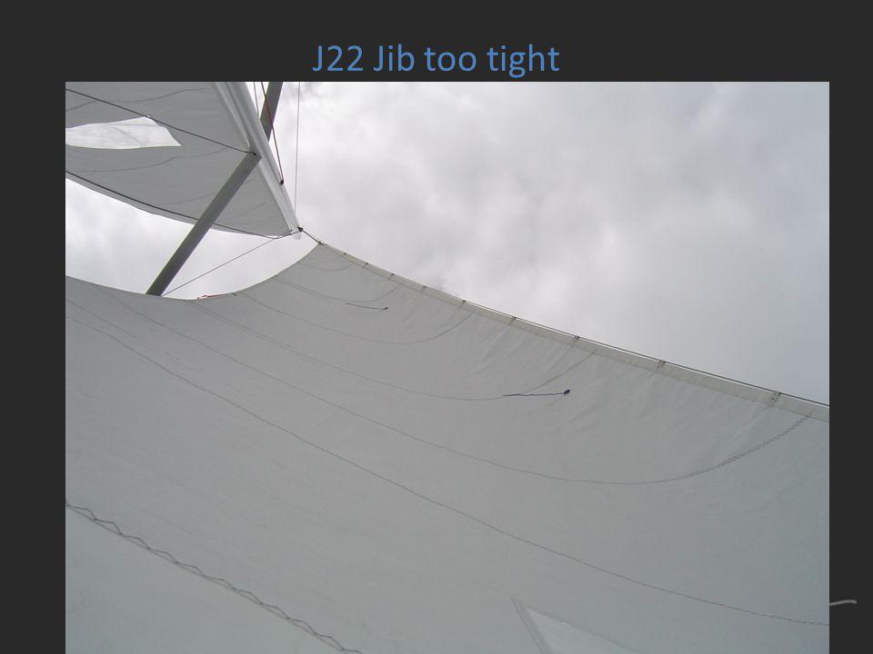 J22 Jib too tight
