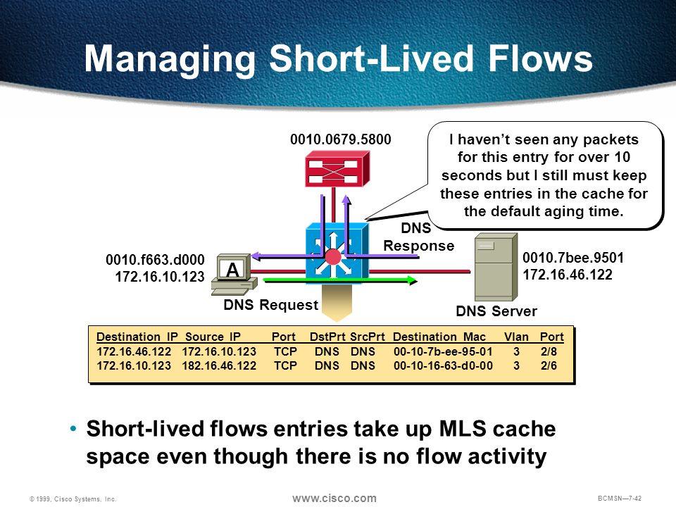 Managing Short-Lived Flows