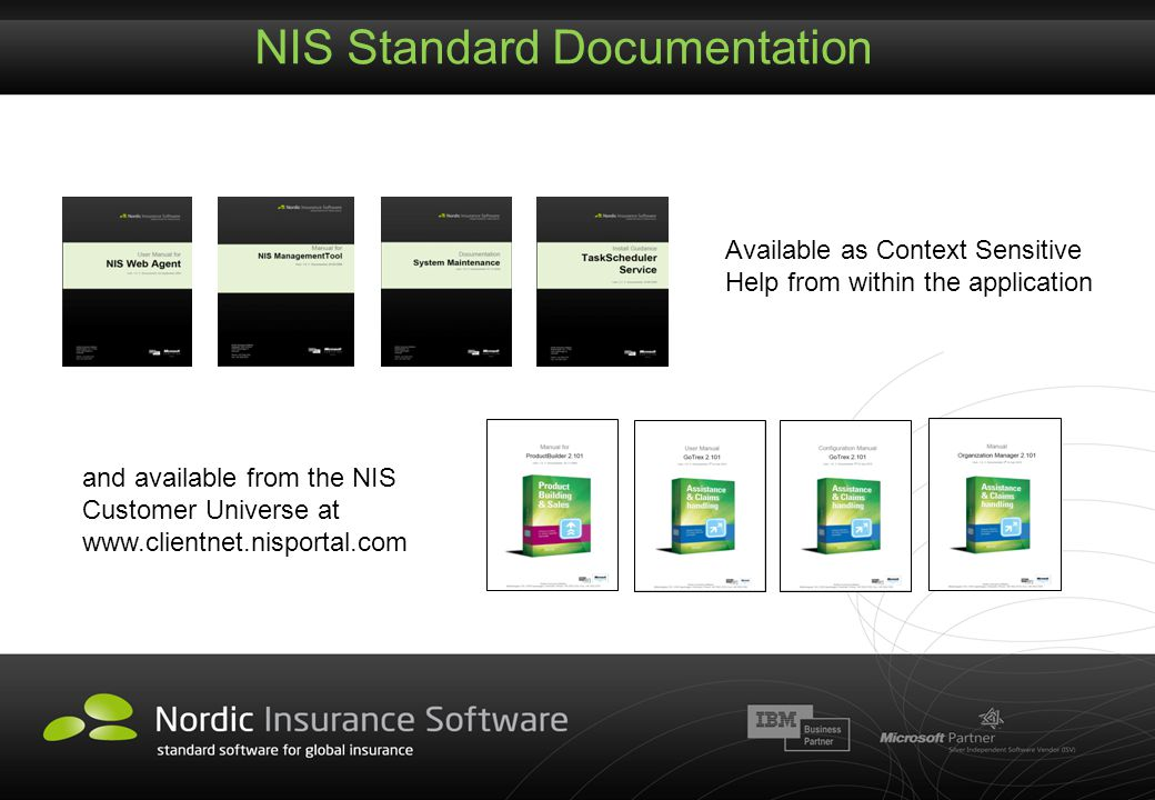 NIS Standard Documentation